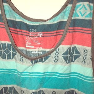 Tribal tank top from On The Byas